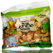 Ania Jungle animal-shaped mini biscutes, no added sugar and no sweeteners, 50g