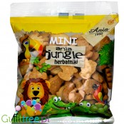 Ania Jungle animal-shaped mini biscutes, no added sugar and no sweeteners, 100g
