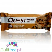 Quest Bar Protein Bar Chocolate Chip Cookie Dough Flavor