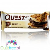 Quest Bar Protein Bar S'mores Flavor - A high-protein bar with natural aromas of baked sugar foams
