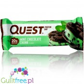Quest Bar Protein Bar Mint Chocolate Chunk Flavor
