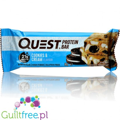 Quest Bar Protein Bar Cookies&Cream