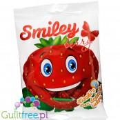 Karvit Smiley Berry - sugar free strawberry lolliops with vit C (8 pcs)