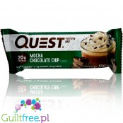 Quest Protein Bar Mocha Chocolate Chip Flavor