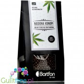 BartFan Hemp Medhemp seed covered in milk chocolate with xylitol