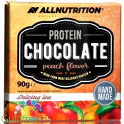 AllNutrition Protein White Chocolate with sugar free Peach filling