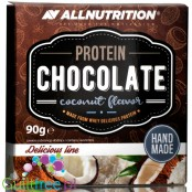AllNutrition Protein Chocolate (90g) Dark Chocolate Coconut