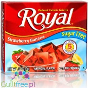 Royal Gelatin Strawberry Banana Sugar Free 0.32oz