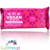Tom Oliver Vegan High Protein Bar Chocolate Raspberry