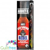 Aubrey D Rebel Red Savina Hot Sauce 150ml