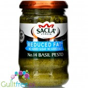 Sacla reduced fat basil pesto