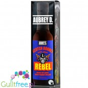 Aubrey D Rebel Scotch Bonnet Hot Sauce - ostry sos zero kalorii z papryczką Scotch Bonnet, piekielnie ostry
