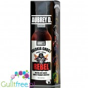 Aubrey D Rebel Jolokia Ghost Hot Sauce 150ml