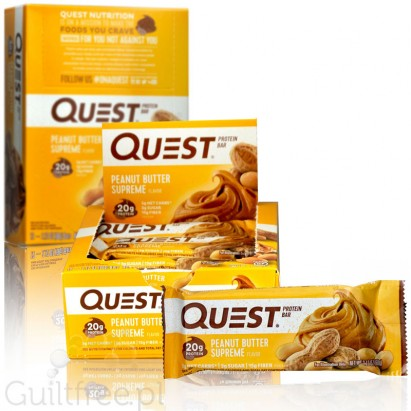 Quest Bar Protein Bar Peanut Butter Supreme