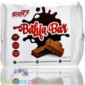 Got7 Bahia Bar Pro no added sugar waffer filled with cream and enrobed with chocolate, 3pcs