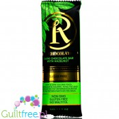 Ross Chocolates , No Sugar Added Stevia Sweetened Chocolate Bars, Dark Chocolate with Hazelnut