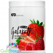 KFD Diet Jelly (50 servings) - Raspberry & Strawberry