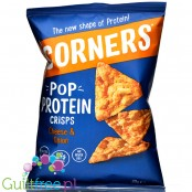 Corners Pop Protein Crisps Cheese & Onion - serowo-cebulowe chipsy białkowe