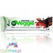Olimp Veggie Protein Bar Strawberry vegan protein bar, soy free