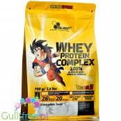 Olimp Whey Protein Complex Dragon Ball Z White Chocolate Raspberry, kolekcjonerska edycja limtowana