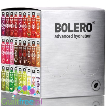 Bolero Drink Mix 58 Flavors