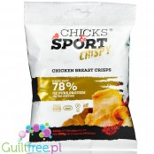 Chicks & Sport Crispy marinated chicken breast slices
