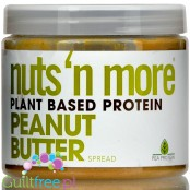 Nuts 'N More Peanut Butter, Vegan, Plant Based Protein,sweetened with xylitol only