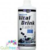 Vital Drink Blackcurrant sugar free concetrate with L-carnitine