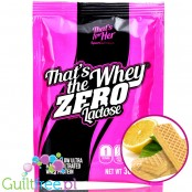 That's The Whey Zero Lactose Lemon Wafers, odżywka białkowa bez laktozy