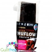 Light Sugar Truflovy sugar free milk chocolate prote bar with WPC and cookies pieces