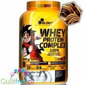 Olimp Whey Protein Complex Dragon Ball Z 2,27KG  Chocolate Truffle & Orange, kolekcjonerska edycja limtowana