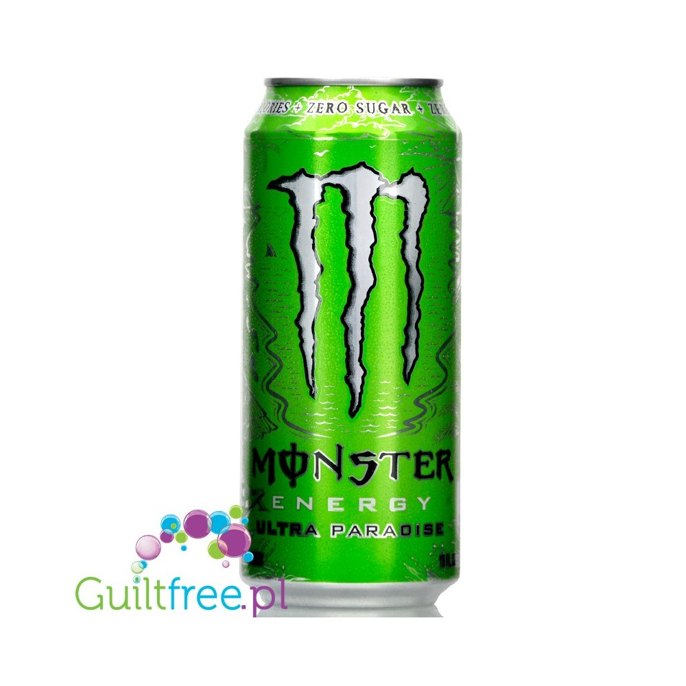 Monster Energy Ultra Green Paradise Sugar Free Energy Drink Guiltfree Pl