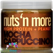 Nuts 'N More Mocha Cappuccino WPI protein infused peanut spread with xylitol