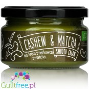 Diet Food organic cashew butter with matcha