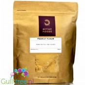 Bulk Powders all-natural lightly roasted Peanut Flour