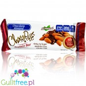 Healthsmart ChocoRite Chocolate Almond sugar free low carb bars