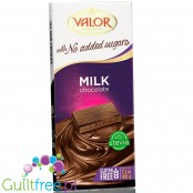 Valor no added sugar milk chcolate with stevia