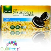 Gullón DietNature Twins - no added sugar cocoa sandwich with cream, 210g