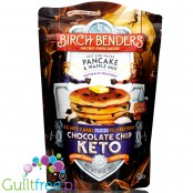 Birch Benders Keto Pancake and Waffle Mix, Chocolate Chip 10 oz