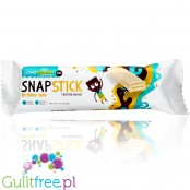 BNRG Power Crunch Kids Snap Stick Bars, Birthday Cake
