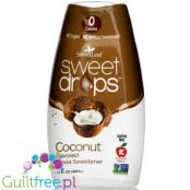 SweetLeaf Sweet Drops Stevia Sweetener, Coconut Flavored (50 ml)