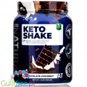 SDC Nutrition About Time Keto Shake, Chocolate Coconut 1.1 lb.