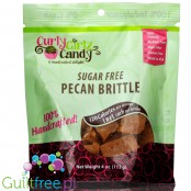 Curly Girlz Candy No Sugar Added Pecan Brittle