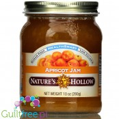 Nature's Hollow Sugar Free Jam, Apricot 10 oz.