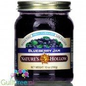Nature's Hollow Sugar Free Jam, Blueberry 10 oz.