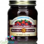 Nature's Hollow Sugar Free Jam, Mountain Berry 10 oz.