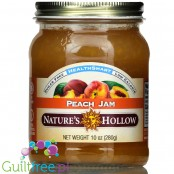 Nature's Hollow  Sugar Free Jam, Peach 10 oz.