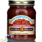 Nature's Hollow Sugar Free Jam, Strawberry 10 oz.