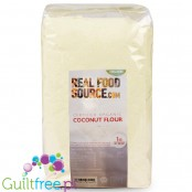 RealFoodSource Certified Organic Fine Coconut Flour (1kg)