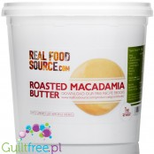 RealFoodSource Roasted Macadamia Butter (1KG)